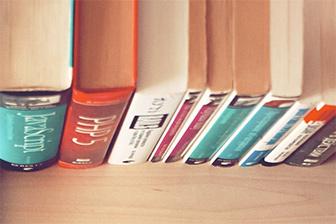 Książki na półce