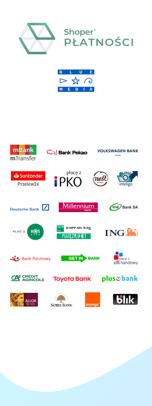 Płatności Shoper, logotypy partnerów